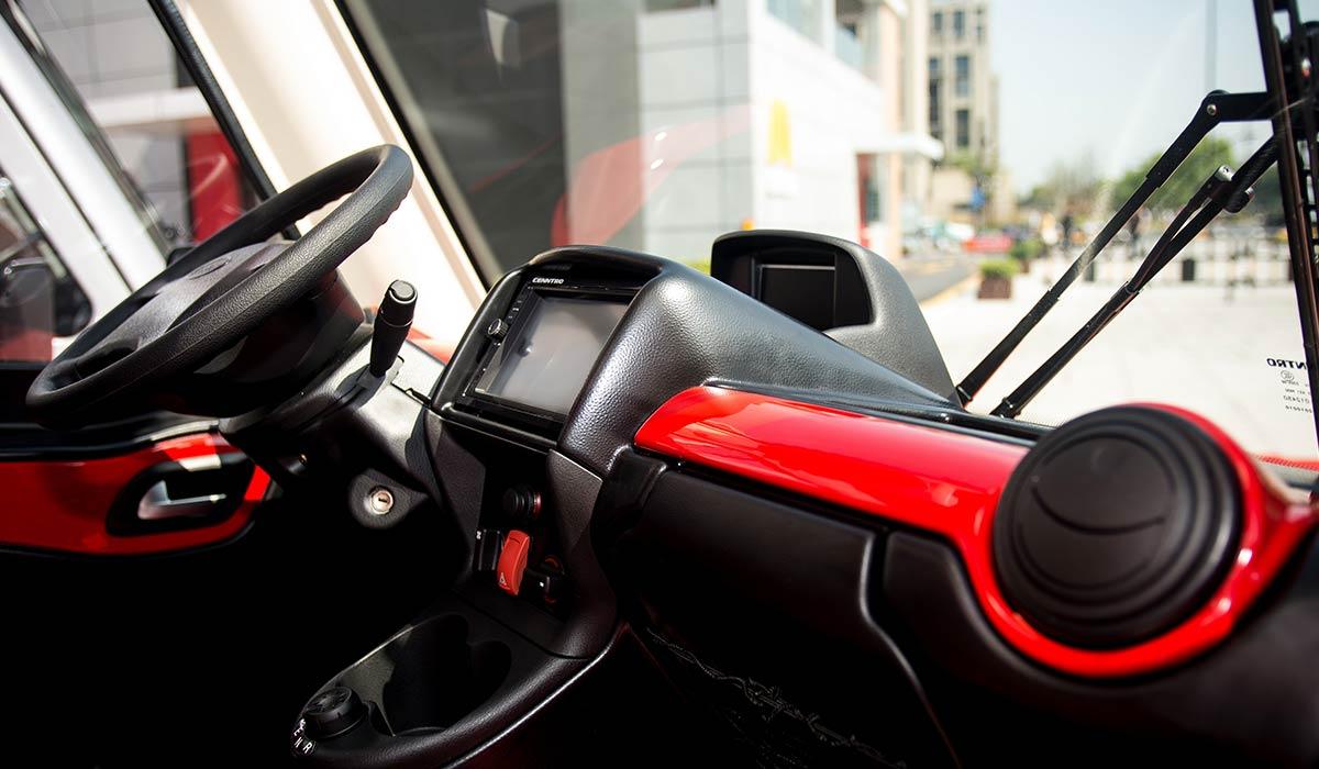 nextem metro interior del vehículo industrial eléctrico