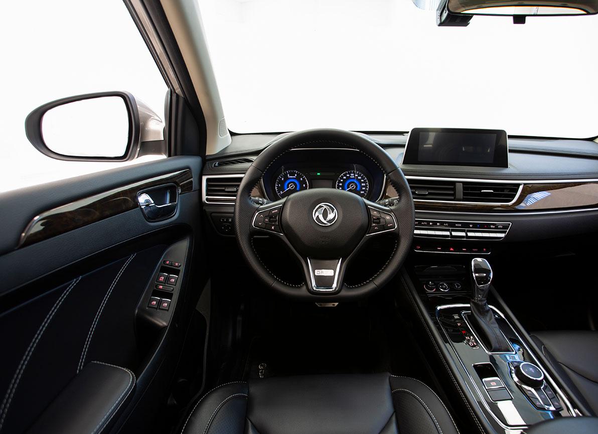 dfsk 580 interior